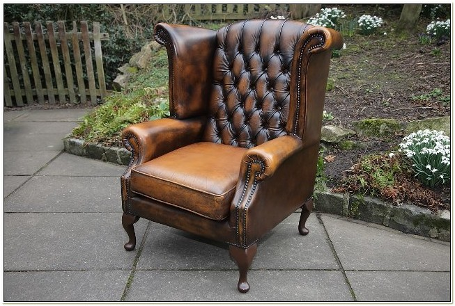 Second Hand Wingback Chair