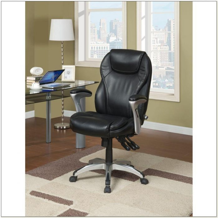 Broyhill Bonded Leather Executive Chair 41119 Chairs