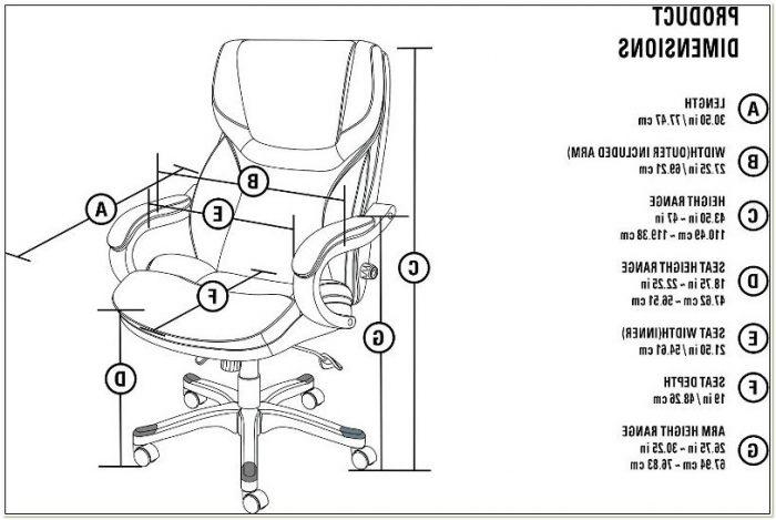 Serta Big And Tall Executive Chair Manual