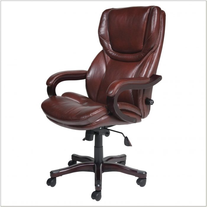 Serta Executive Leather Office Chair