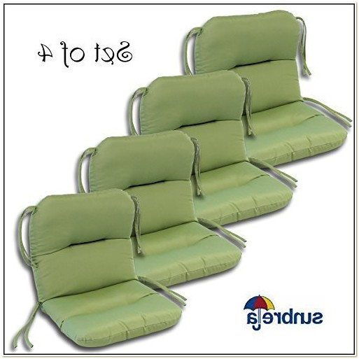 Set Of 4 Outdoor Chair Cushions