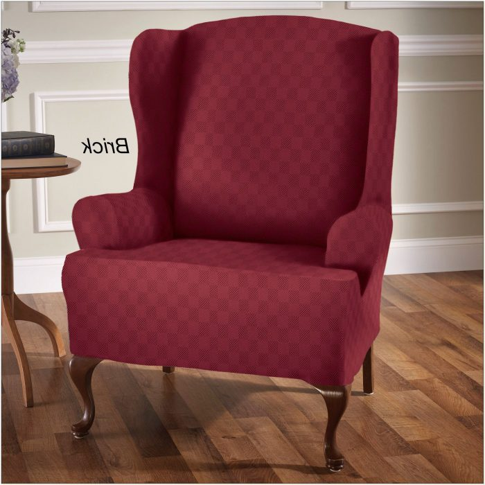 Slipcover For Wing Chair Without T Cushion