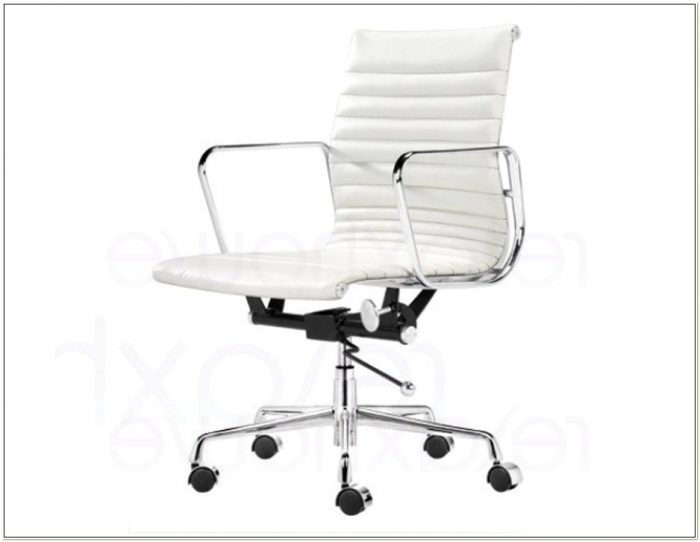 Staples White Desk Chair