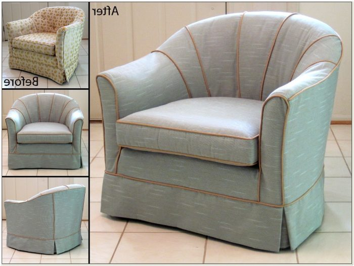 Stretch Slipcovers For Barrel Chairs