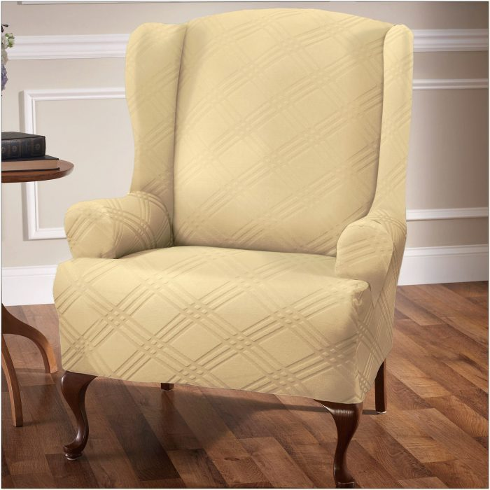 Stretch Slipcovers For Wingback Chairs
