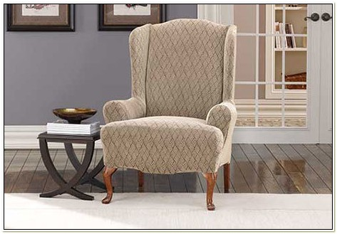 Stretch Wing Chair Slipcover
