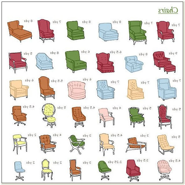 Styles Of Upholstered Chairs