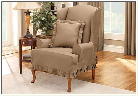 Sure Fit Colette Wing Chair Slipcover