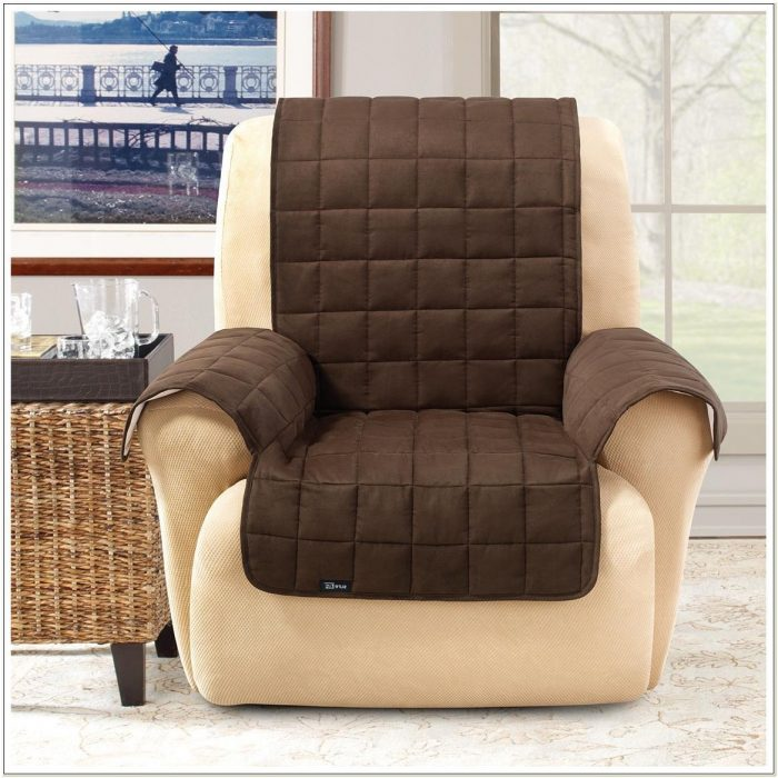 Sure Fit Pet Wing Chairrecliner Cover