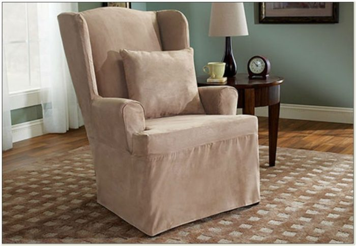 Sure Fit Wingback Chair Covers