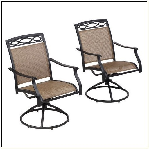 Swivel Rocker Sling Patio Chairs