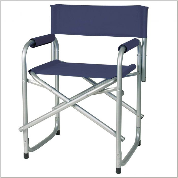 Tall Metal Folding Directors Chair