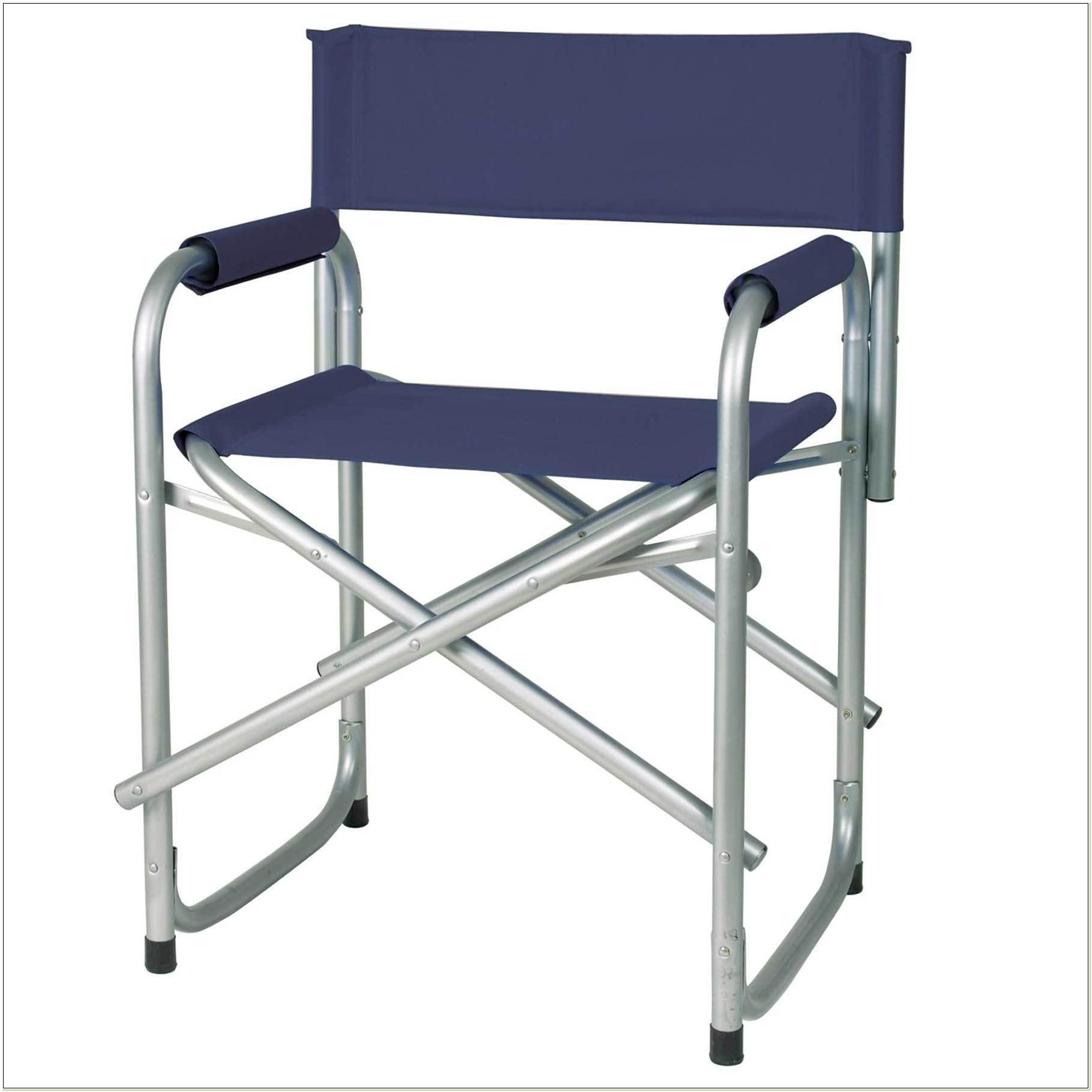 Tall Metal Folding Directors Chair
