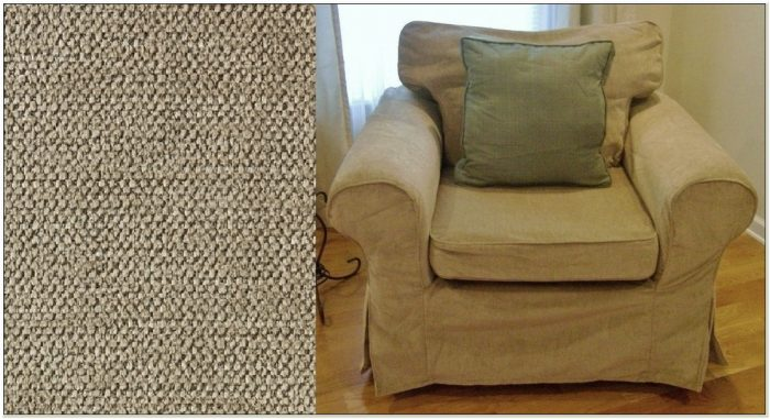 Three Piece Chair Slipcover