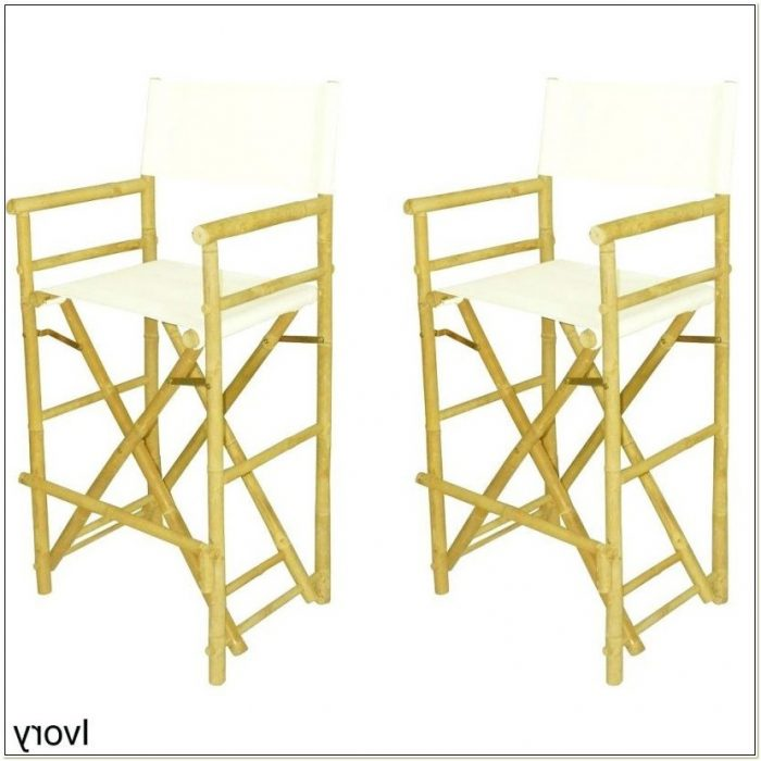 Trademark Innovations Folding Tall Directors Chair