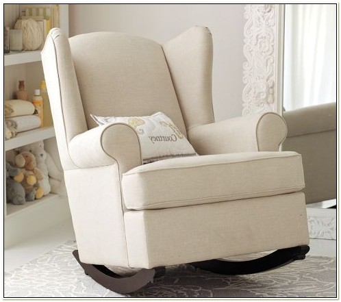 Upholstered Glider Chair For Nursery