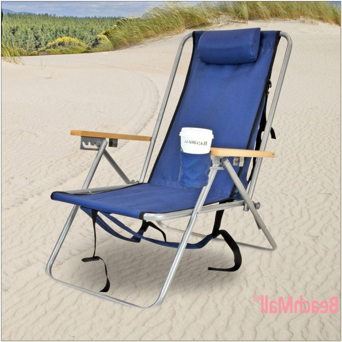 Wearever Backpack Beach Chair With Footrest Chairs