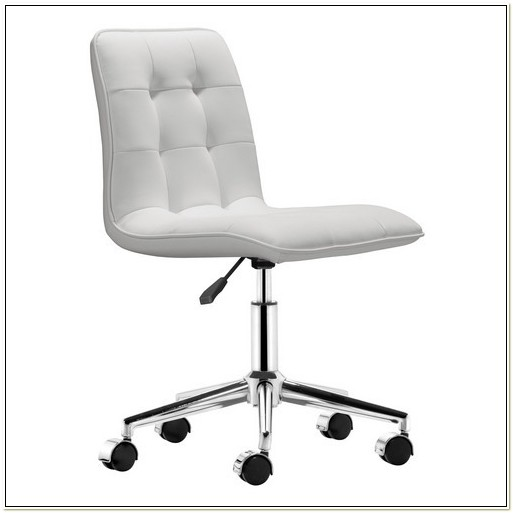 White Leather Office Chair Staples