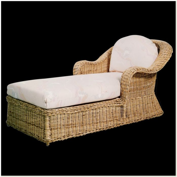 Wicker Patio Double Chaise Lounge Patios Home