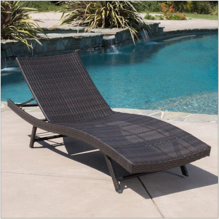 Wicker Chaise Lounge Furniture