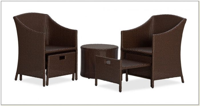 Wicker Patio Chairs With Ottoman