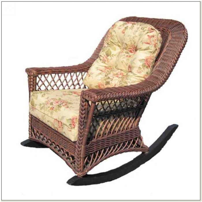 Wicker Rocking Chair Replacement Cushions