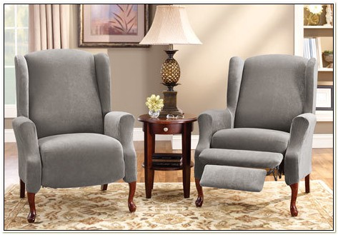 Wing Chair Recliner Slipcover