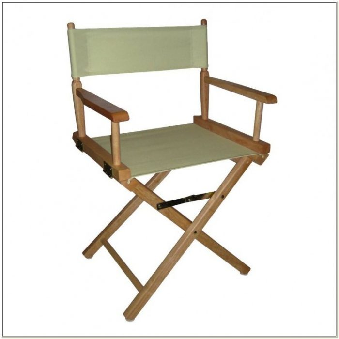 Wood Folding Directors Chair