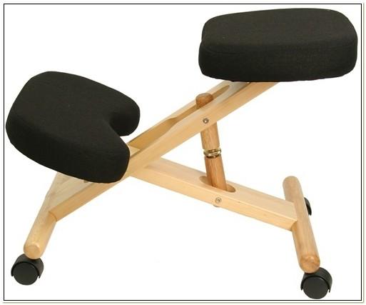 Wooden Ergonomic Kneeling Posture Office Chair