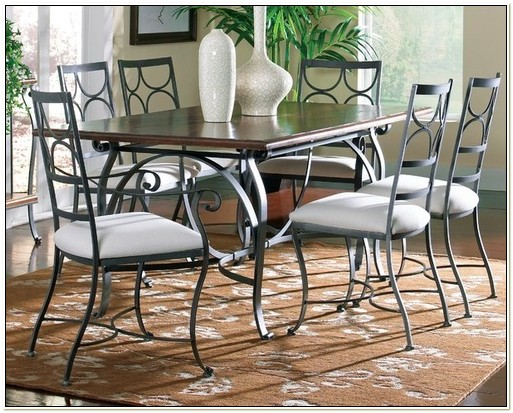 Wrought Iron Dining Room Table Sets