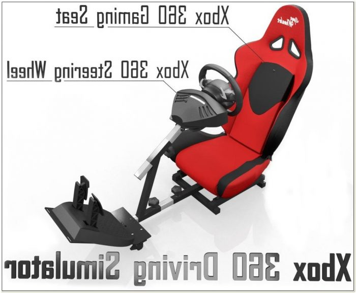 Xbox 360 Racing Seat Simulator