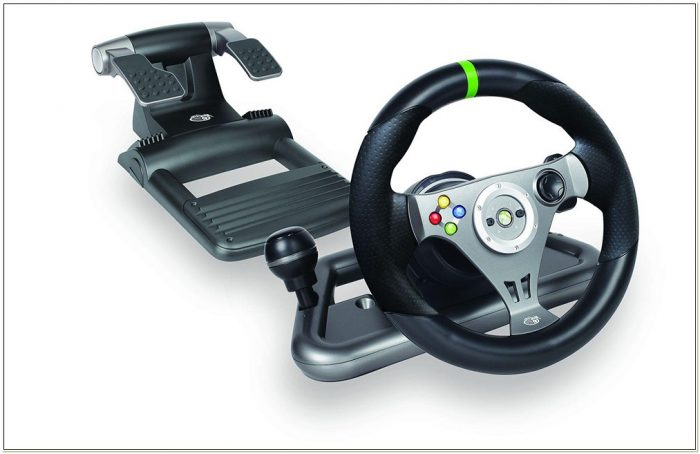 Xbox 360 Racing Seat Steering Wheel