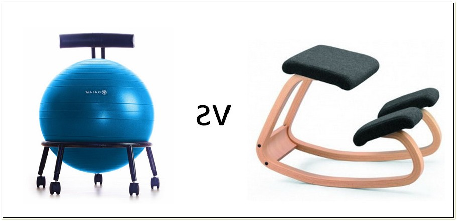 Yoga Ball Chair Posture