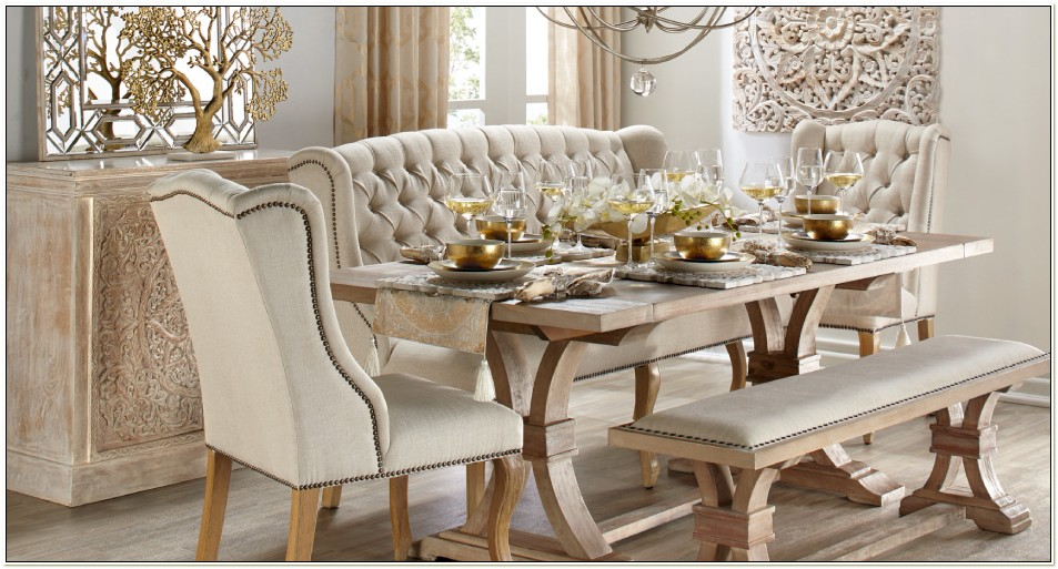 Z Gallerie Dining Table And Chairs