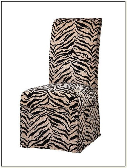 Zebra Dining Chair Covers