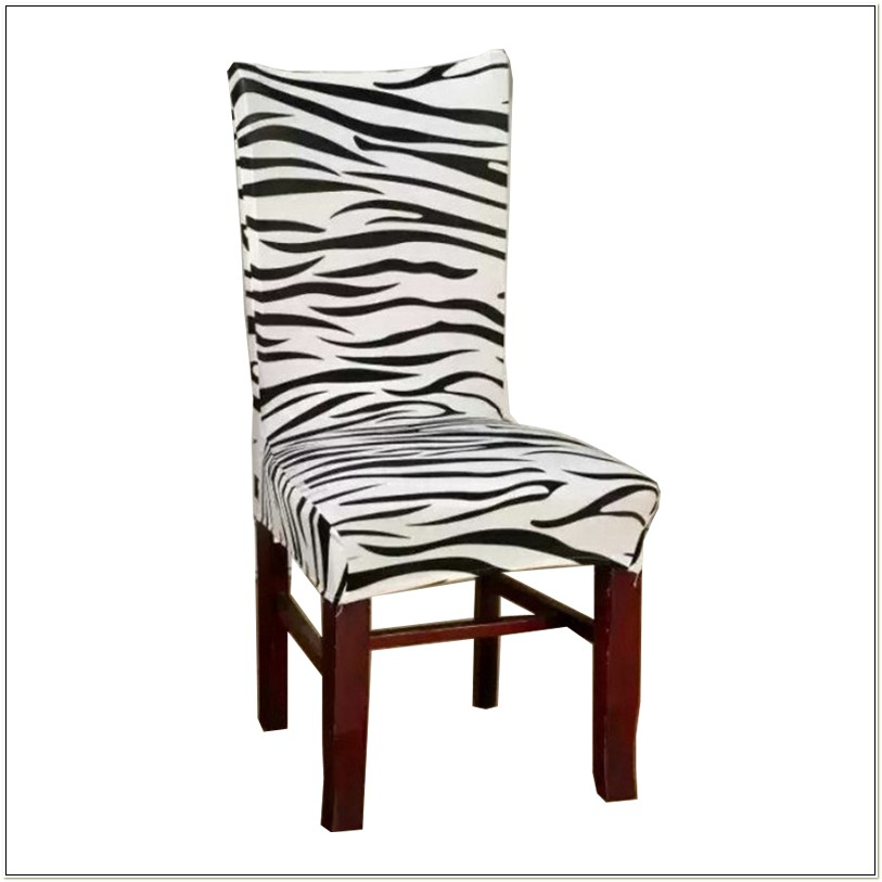 Zebra Dining Room Chair Covers