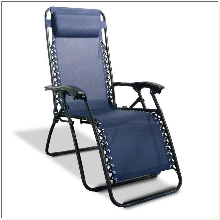 Zero Gravity Chair With Canopy Headrest