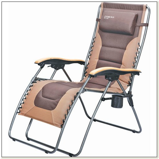 Zero Gravity Chair With Cup Holder