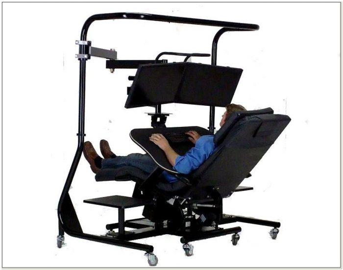 Zero Gravity Chair Workstation 4