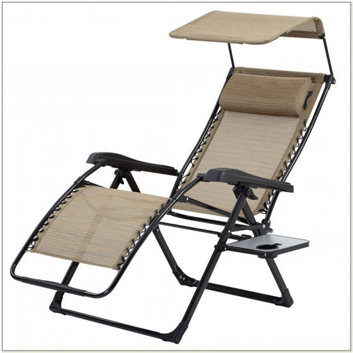Zero Gravity Lounge Chair With Canopy