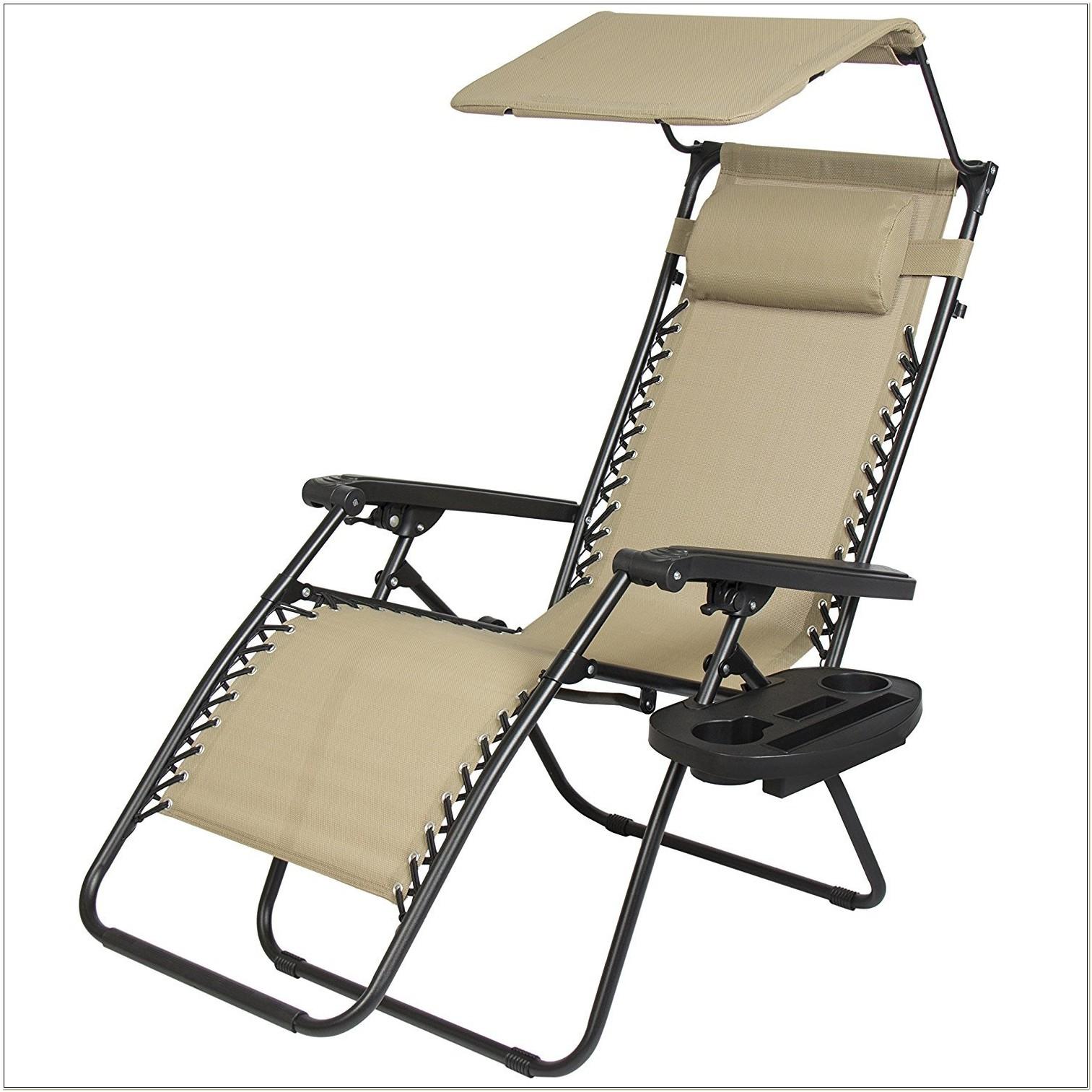 Zero Gravity Lounge Chair With Sunshade