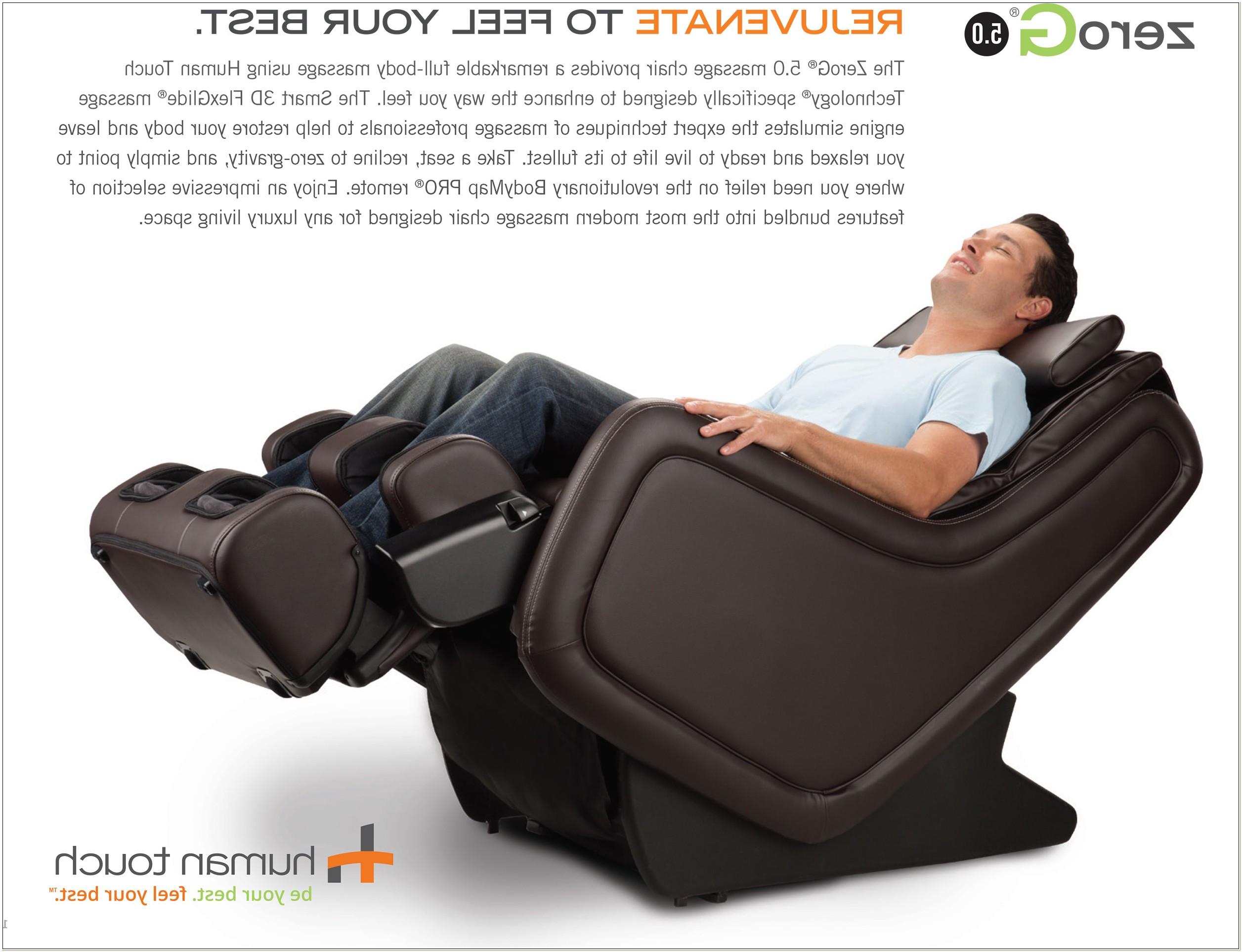 Zero Gravity Massage Chair Human Touch
