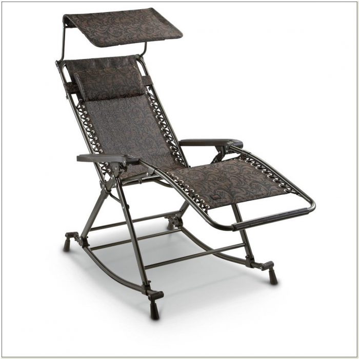 Zero Gravity Recliner With Canopy