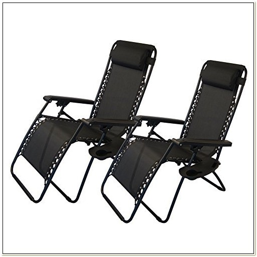 Zero Gravity Recliner With Cup Holder