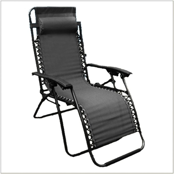 Zero Gravity Reclining Garden Lounge Chair