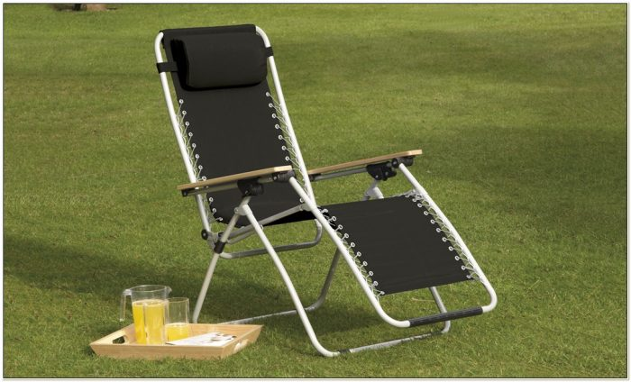 Zero Gravity Textoline Deck Chairs