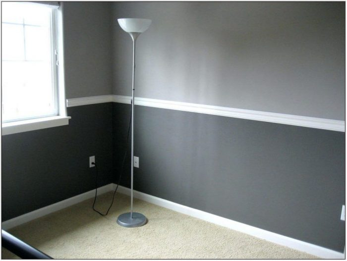 2 Tone Colors Living Room