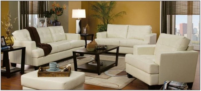 3 Pc Living Room Furniture Set