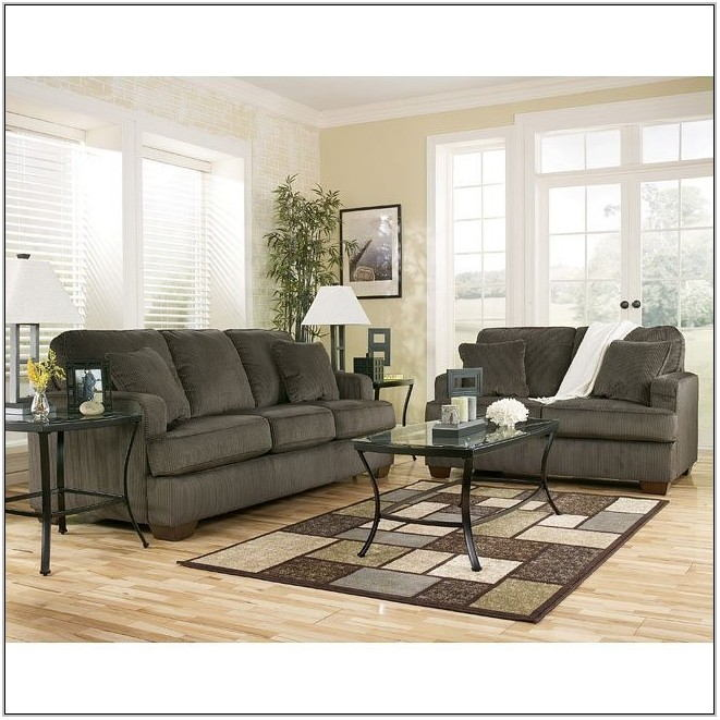 4 Piece Living Room Furniture Set