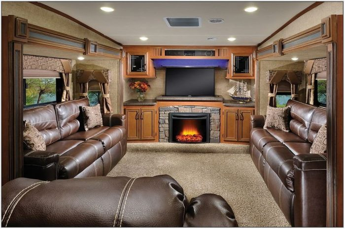 5th Wheel Trailer With Front Living Room